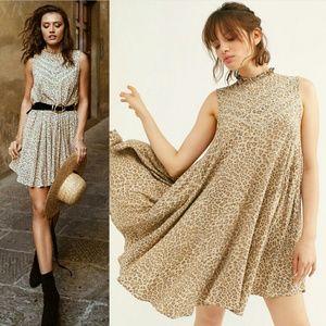 New spell designs frankie tunic dress cheetah M